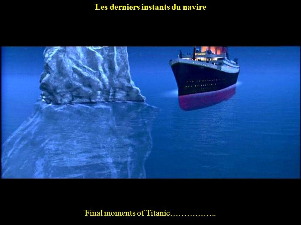 Les derniers instants du navire