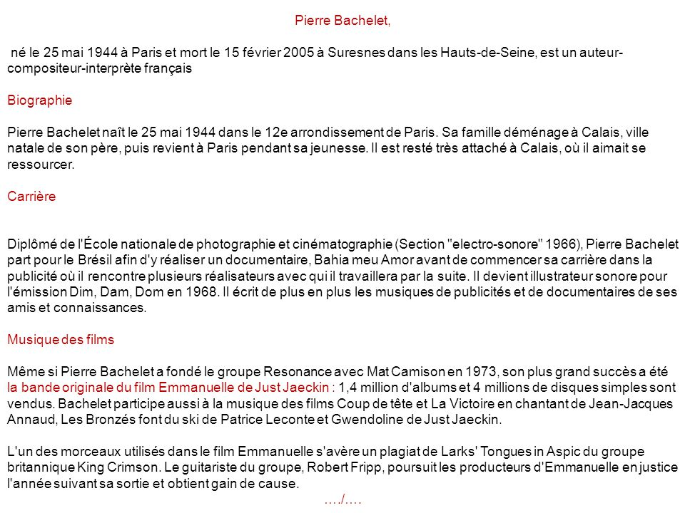 Pierre Bachelet,