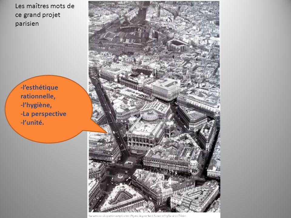 Les maîtres mots de ce grand projet parisien
