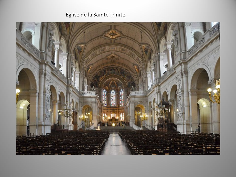 Eglise de la Sainte Trinite