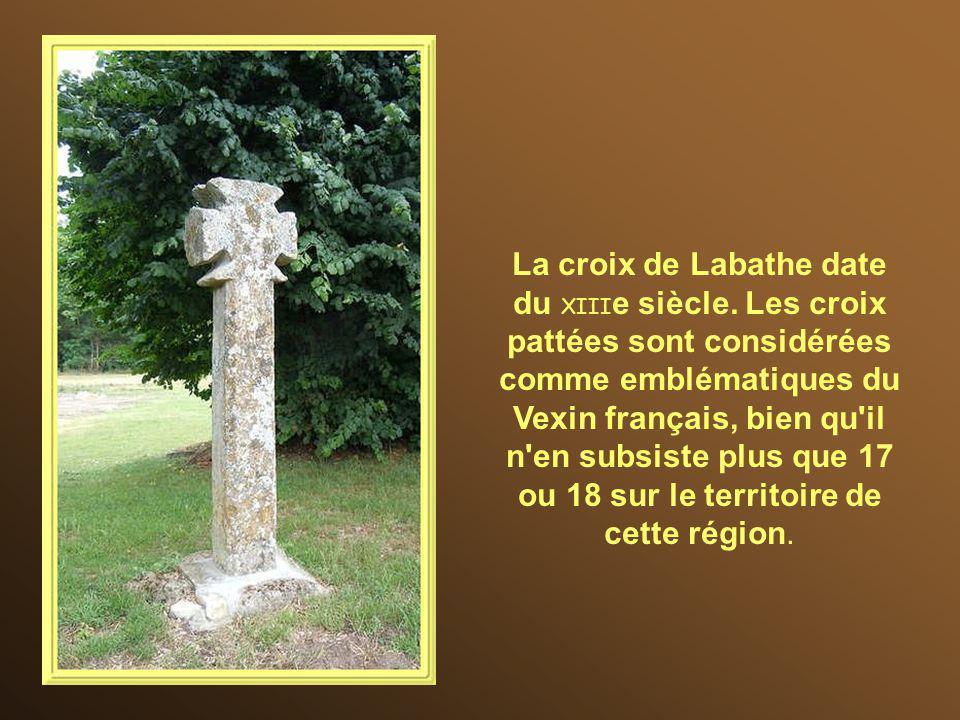 La croix de Labathe date du XIIIe siècle