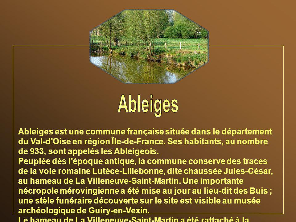 Ableiges