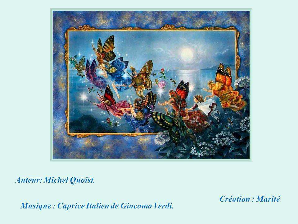 Auteur: Michel Quoist. Création : Marité Musique : Caprice Italien de Giacomo Verdi.