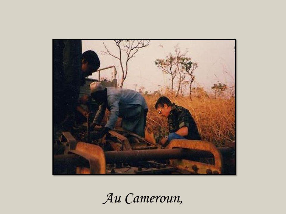Au Cameroun,