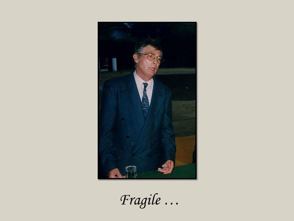 Fragile …