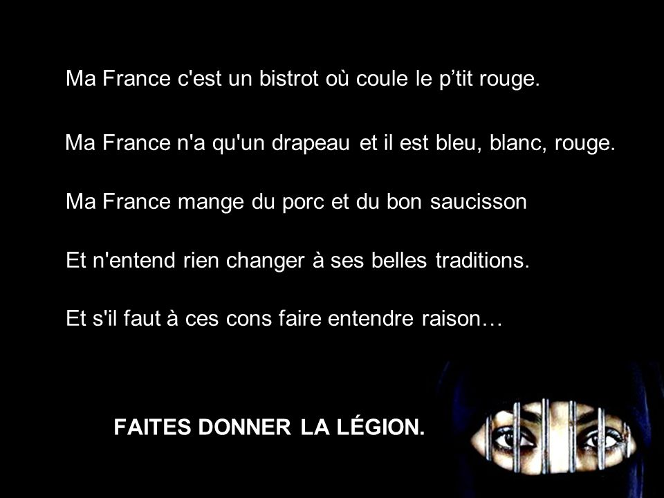 FAITES DONNER LA LÉGION.