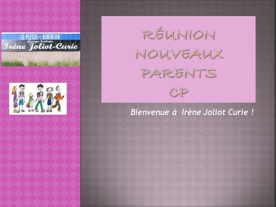 Réunion nouveaux parents CP