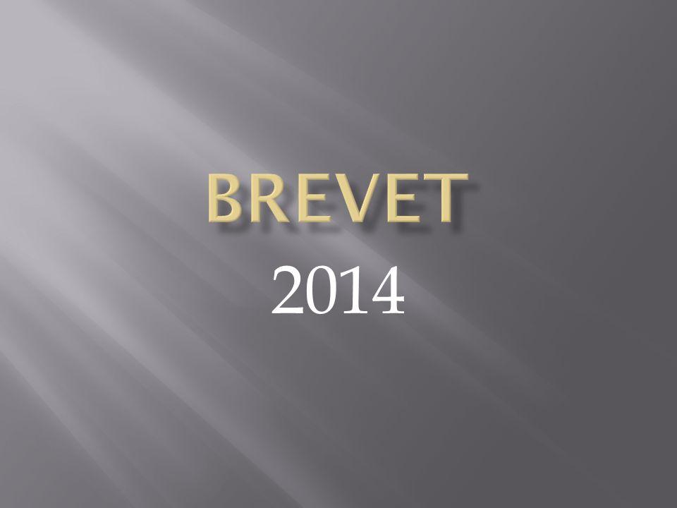 BREVET 2014