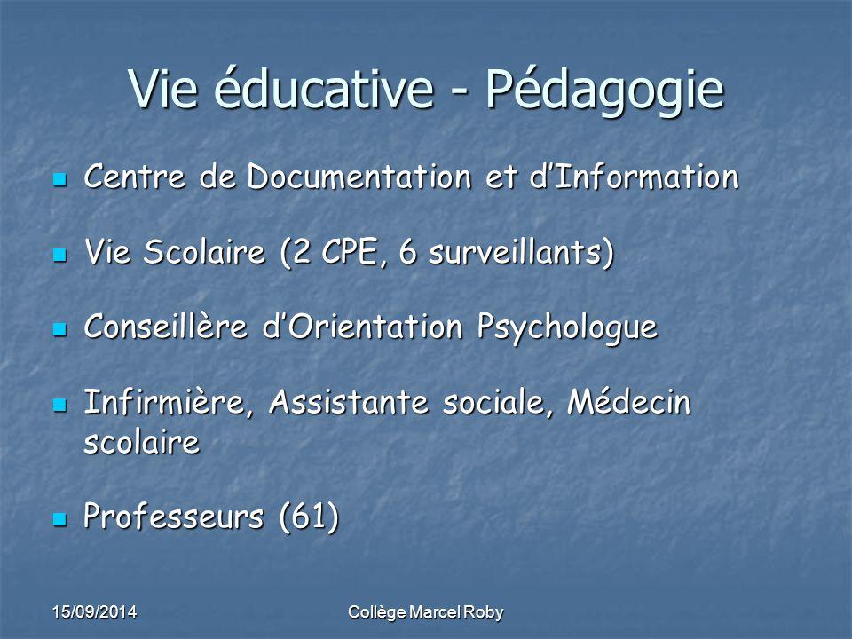 Vie éducative - Pédagogie