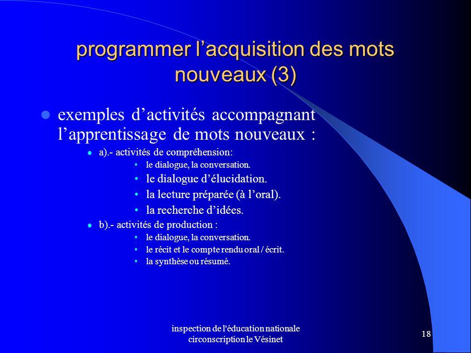 programmer l'acquisition des mots nouveaux (3)