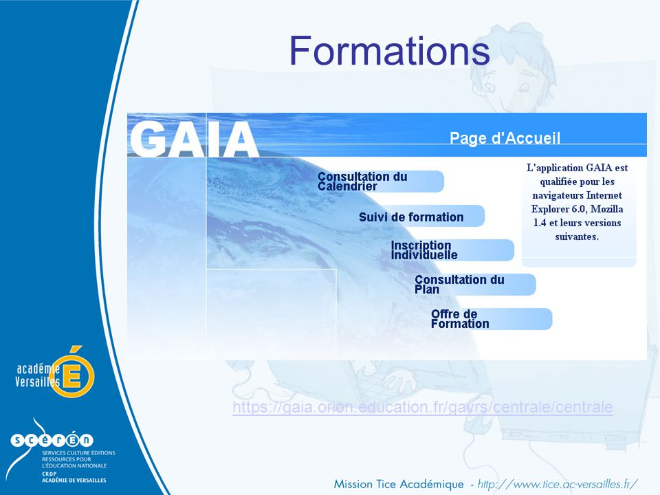 Formations https://gaia.orion.education.fr/gavrs/centrale/centrale
