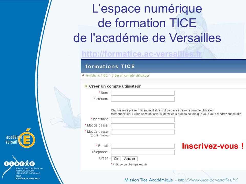 de l académie de Versailles