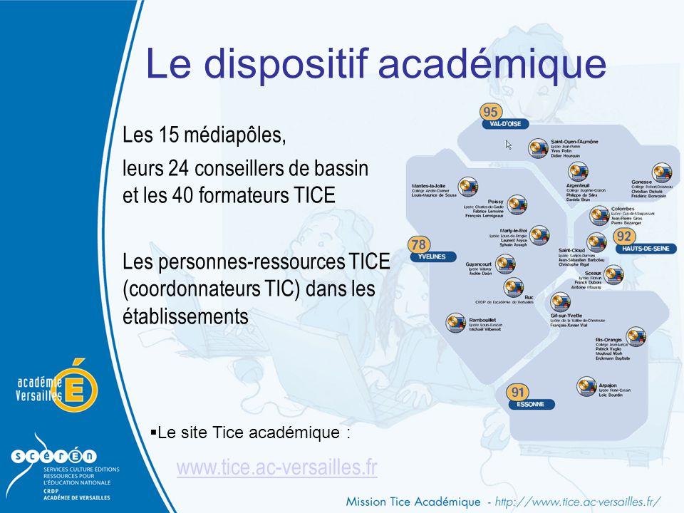 Le dispositif académique