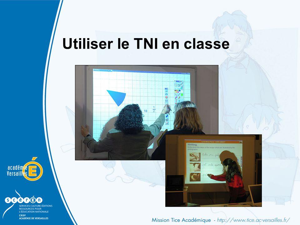 Utiliser le TNI en classe