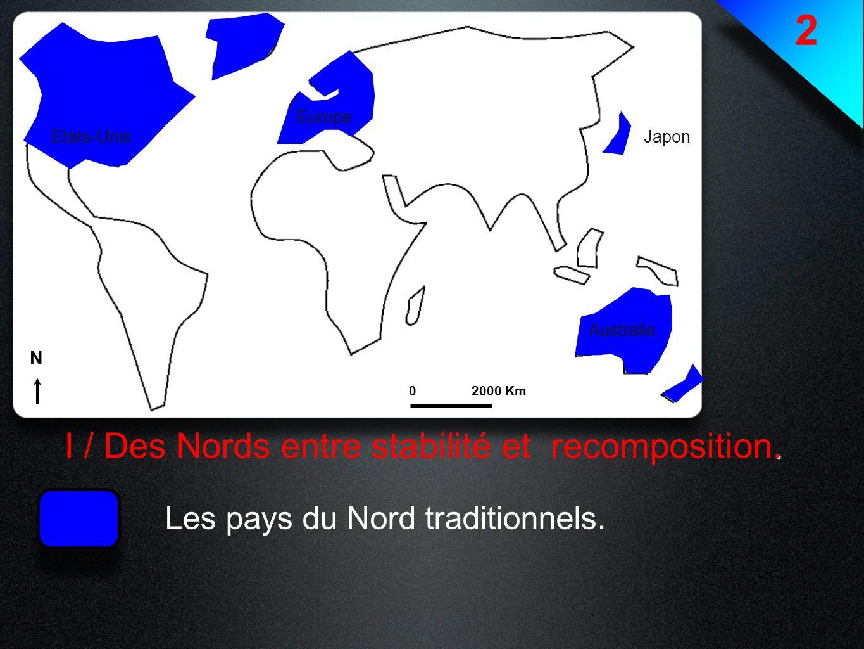 2 I / Des Nords entre stabilité et recomposition.