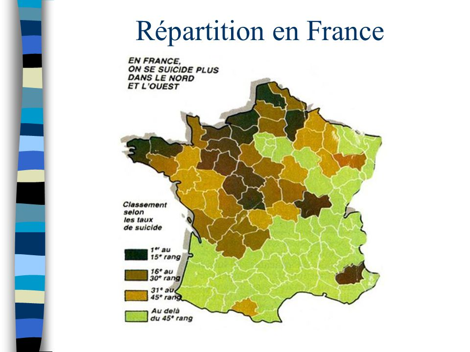 Répartition en France