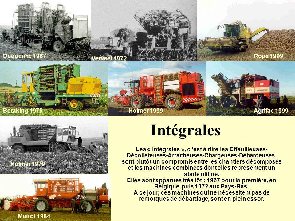 Intégrales Duquenne 1967 Ropa 1999 Vervaet 1972 Betaking 1975
