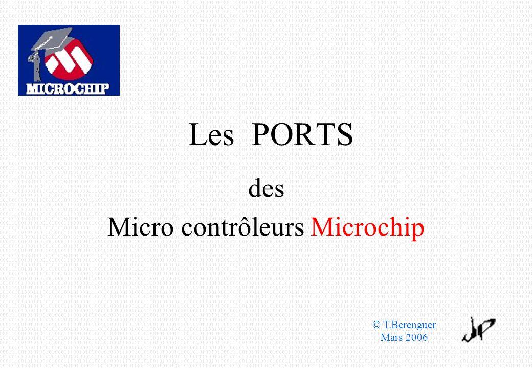 des Micro contrôleurs Microchip
