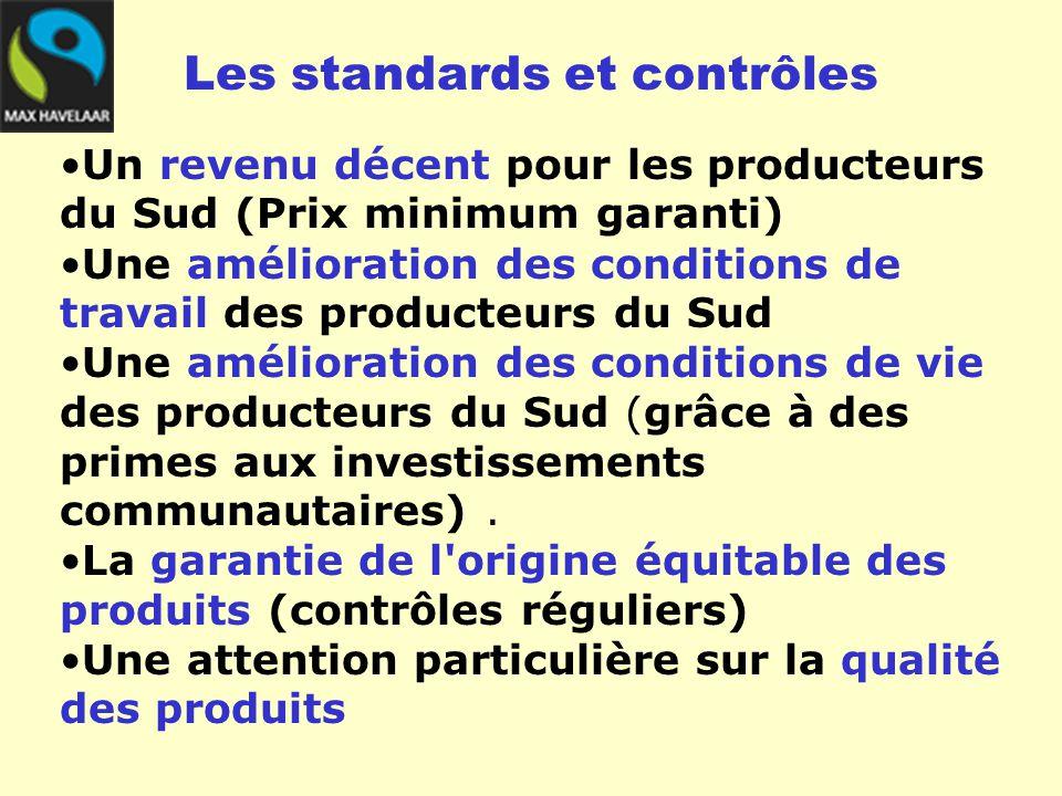 Les standards et contrôles