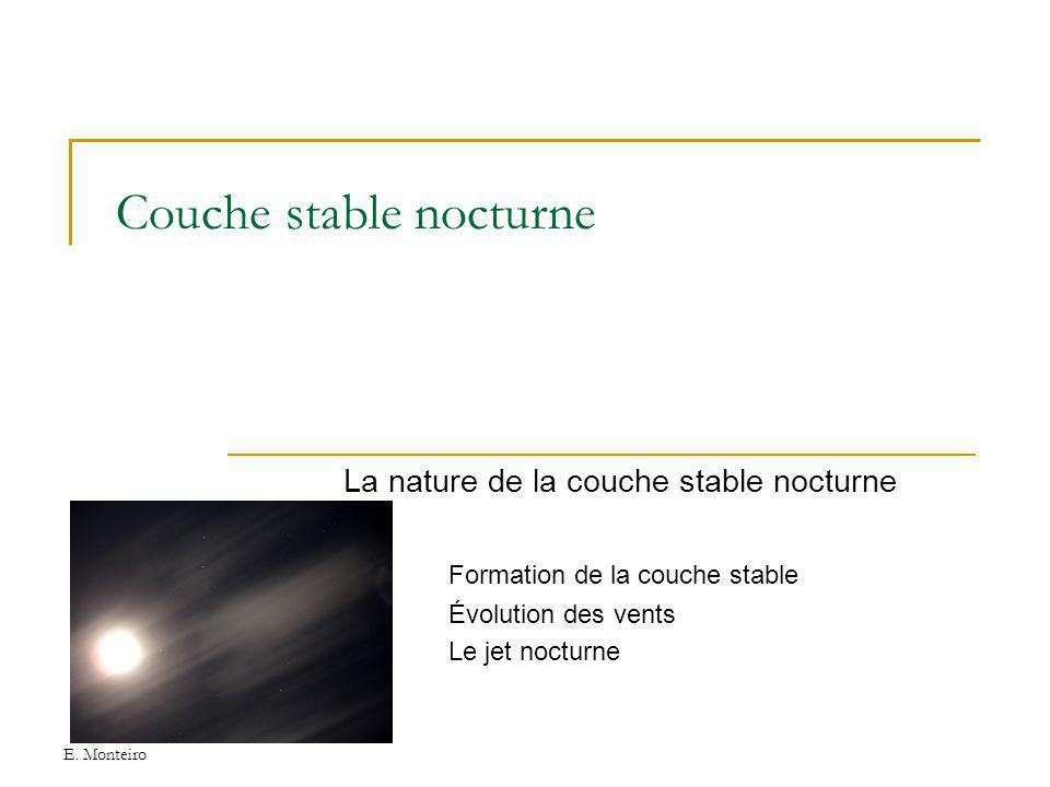 Couche stable nocturne