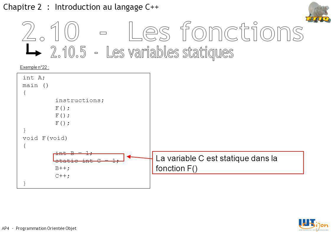 2.10.5 - Les variables statiques