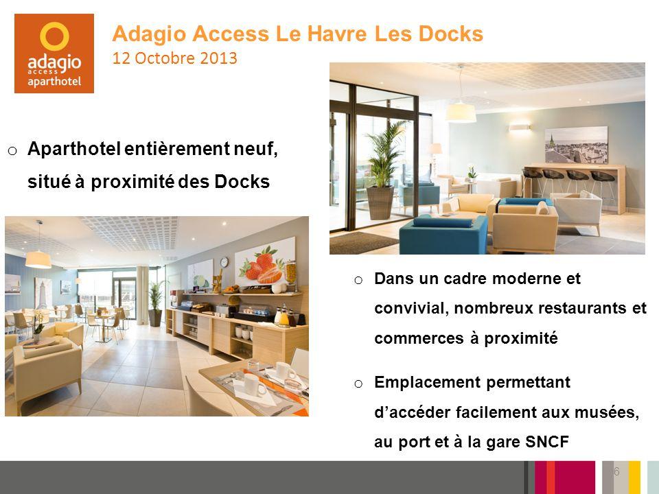 Adagio Access Le Havre Les Docks 12 Octobre 2013