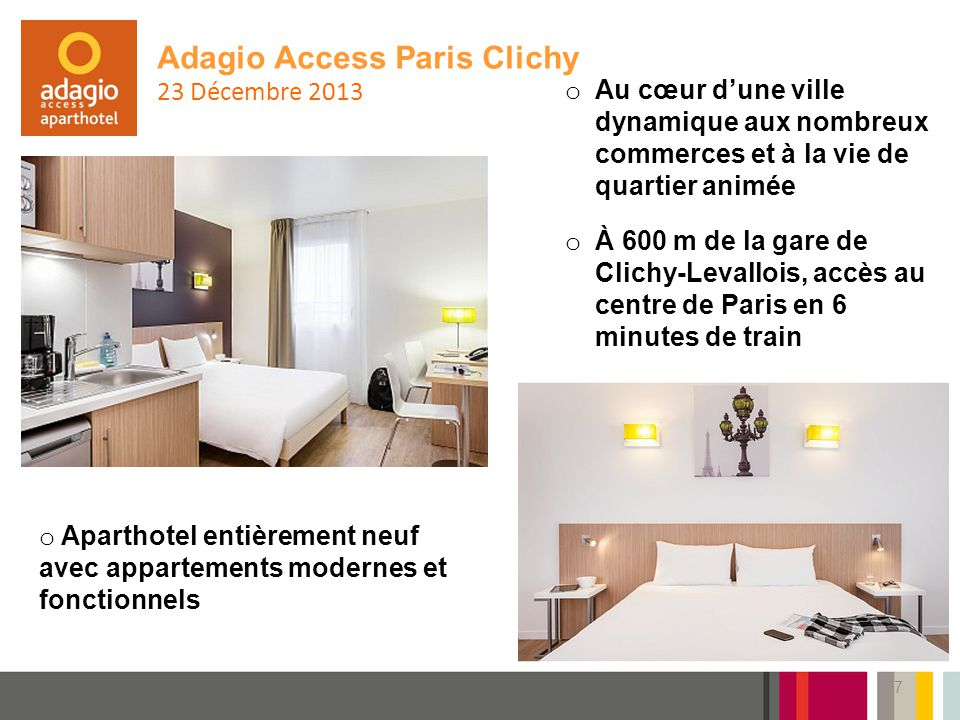 Adagio Access Paris Clichy 23 Décembre 2013