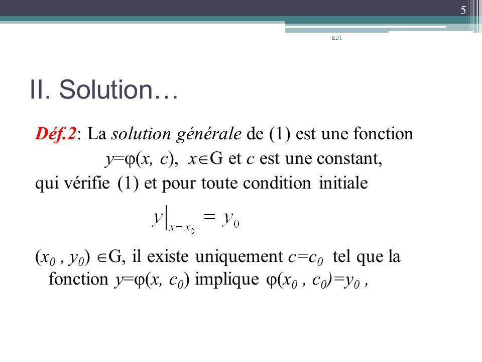 ED1 II. Solution…