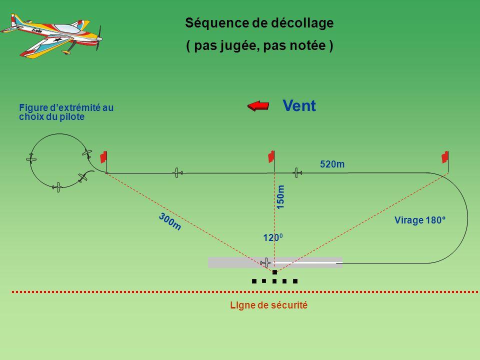 Vent Séquence de décollage ( pas jugée, pas notée ) 4