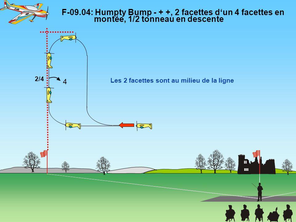 F-09. 04: Humpty Bump - + +, 2 facettes d'un 4 facettes en