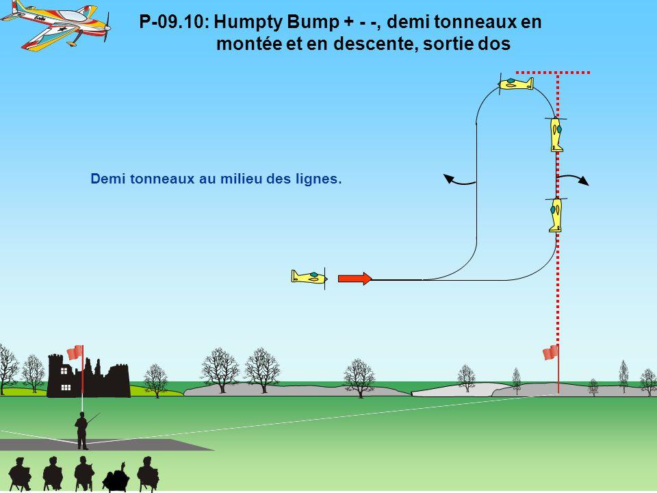 P-09. 10: Humpty Bump + - -, demi tonneaux en