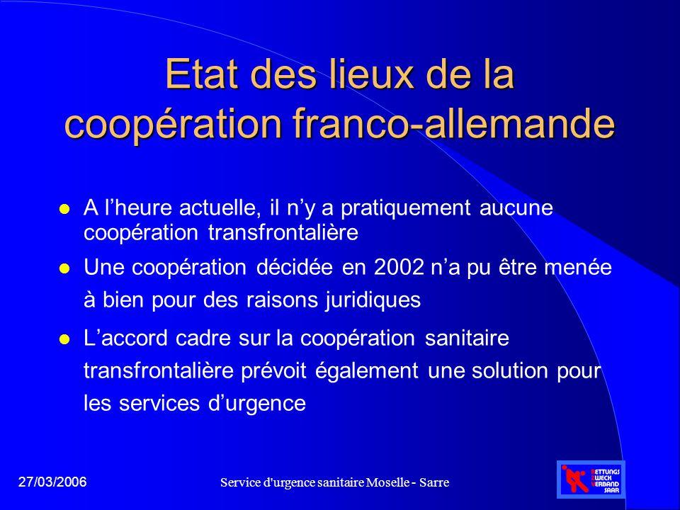 Etat des lieux de la coopération franco-allemande