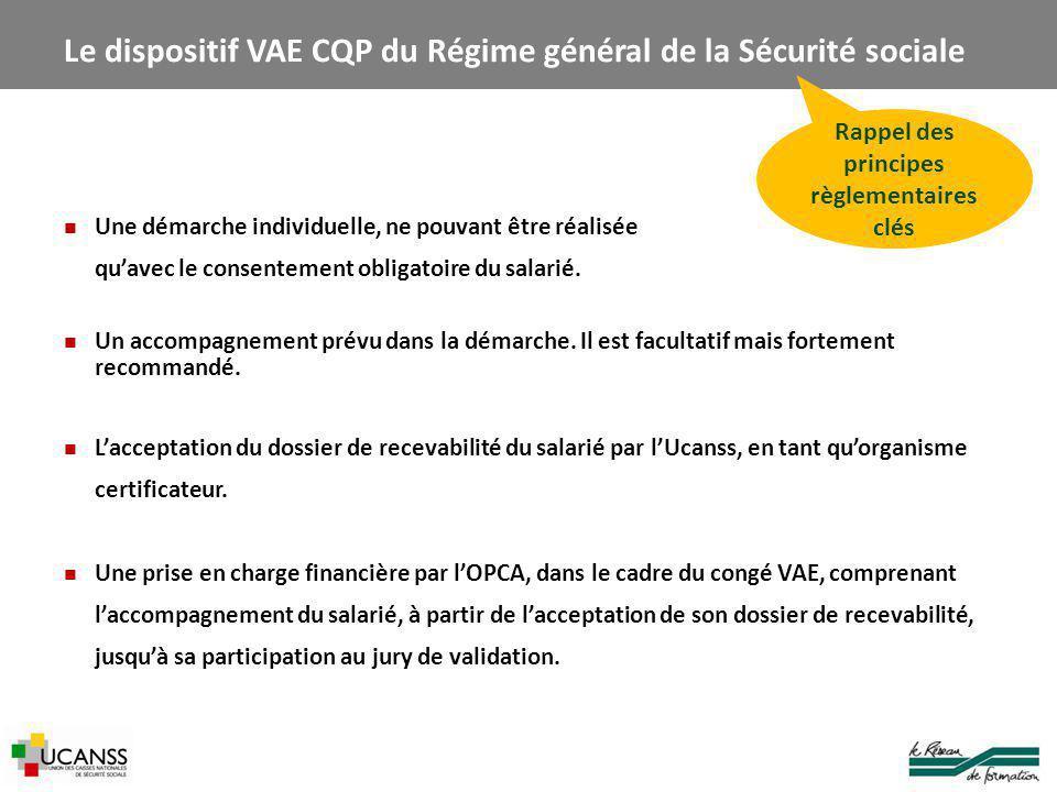 Le dispositif VAE CQP du Régime général de la Sécurité sociale