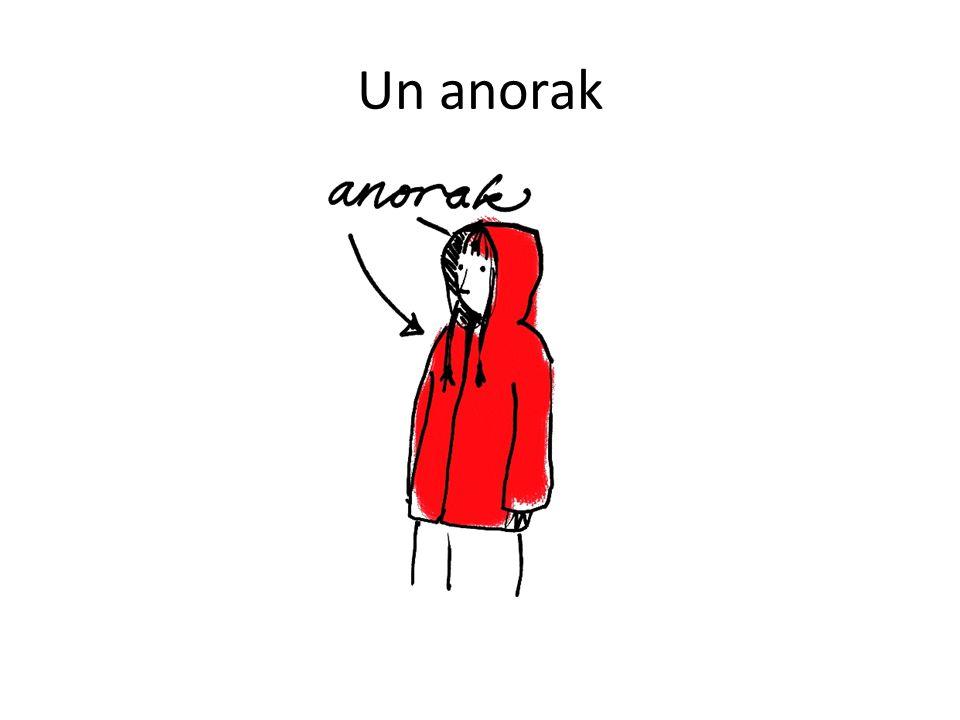Un anorak