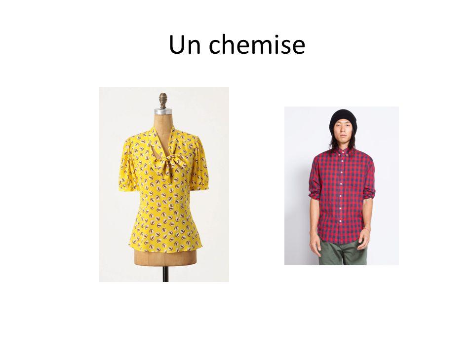 Un chemise