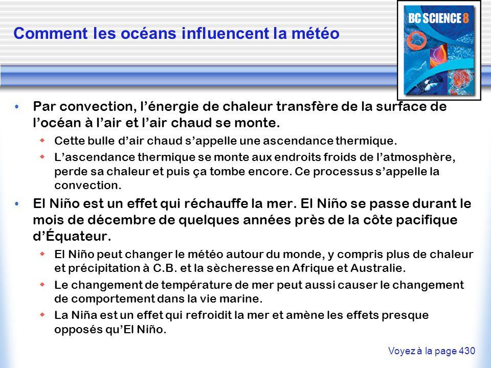 Comment les océans influencent la météo