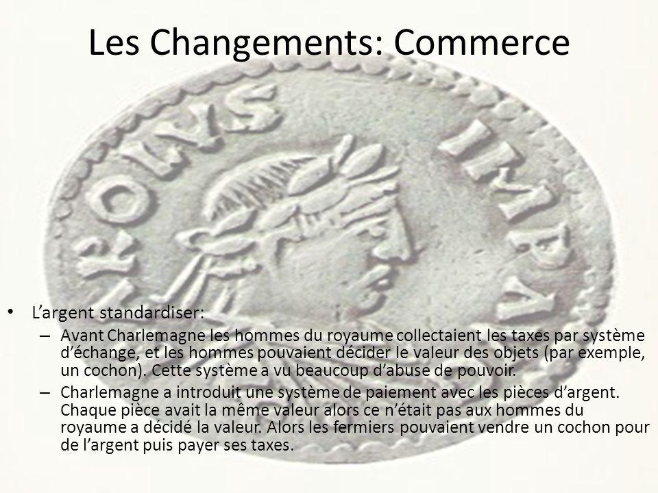 Les Changements: Commerce
