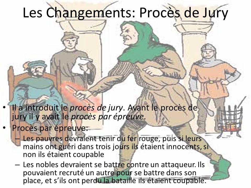 Les Changements: Procès de Jury