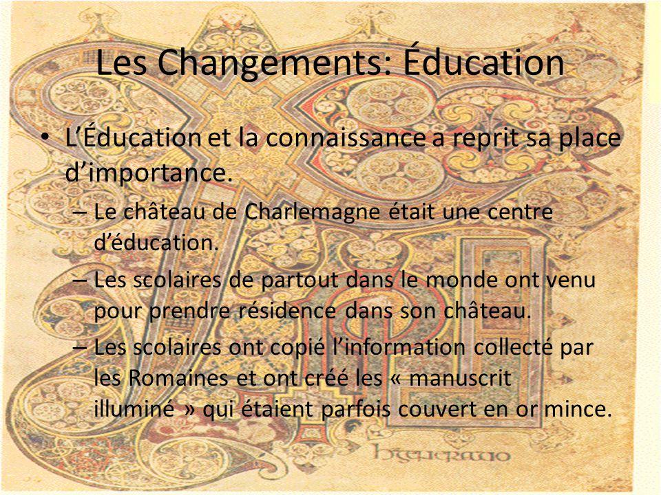 Les Changements: Éducation
