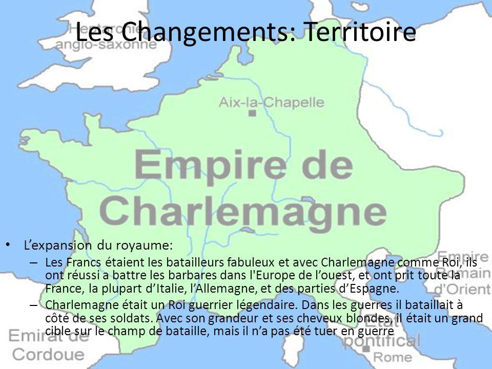 Les Changements: Territoire