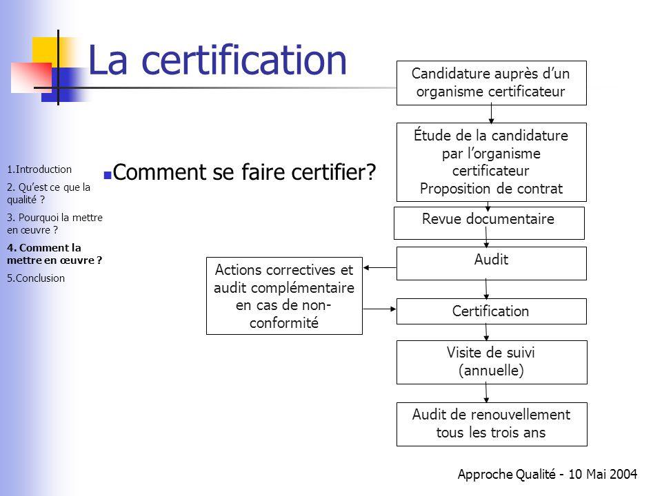 La certification Comment se faire certifier