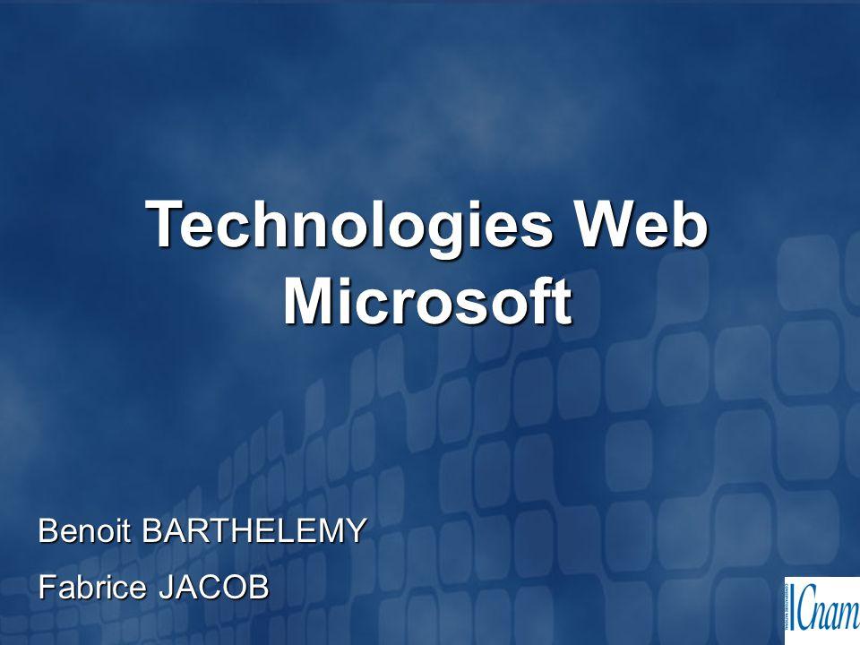 Technologies Web Microsoft