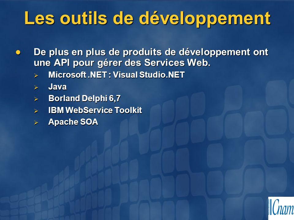 Les outils de développement
