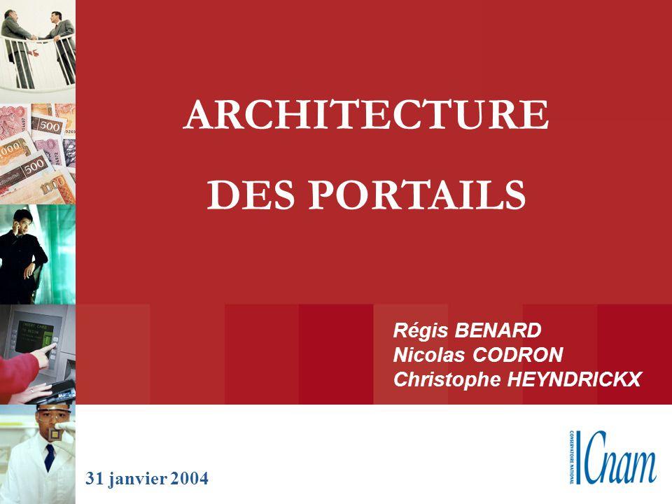 ARCHITECTURE DES PORTAILS