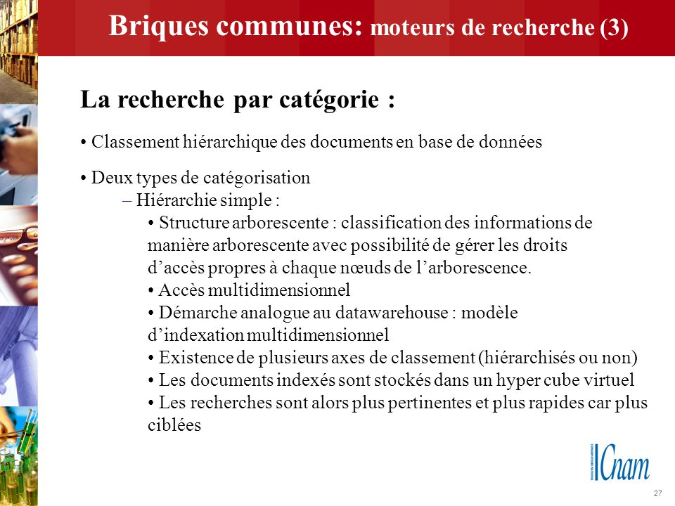 Briques communes: moteurs de recherche (3)
