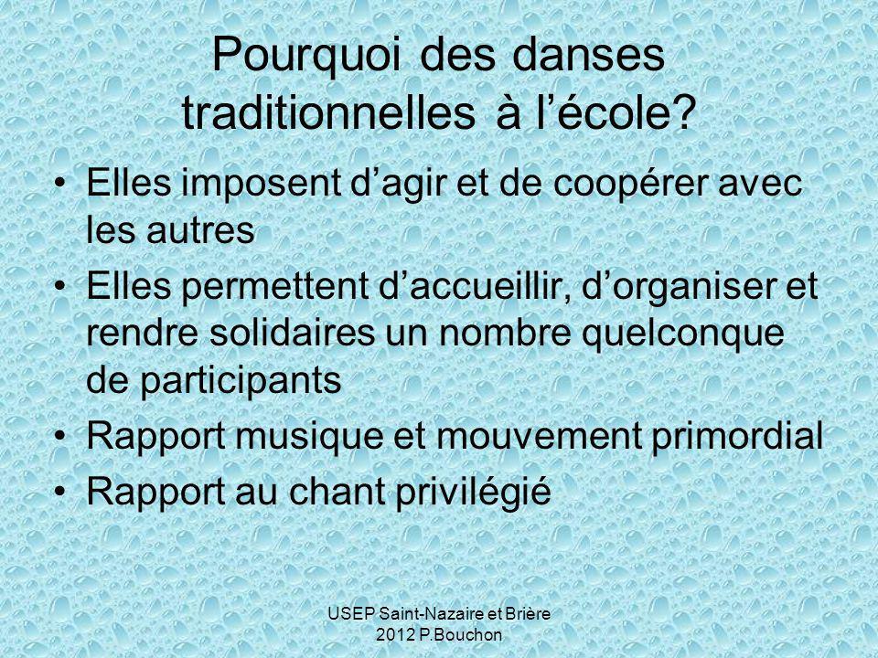 Pourquoi des danses traditionnelles à l'école