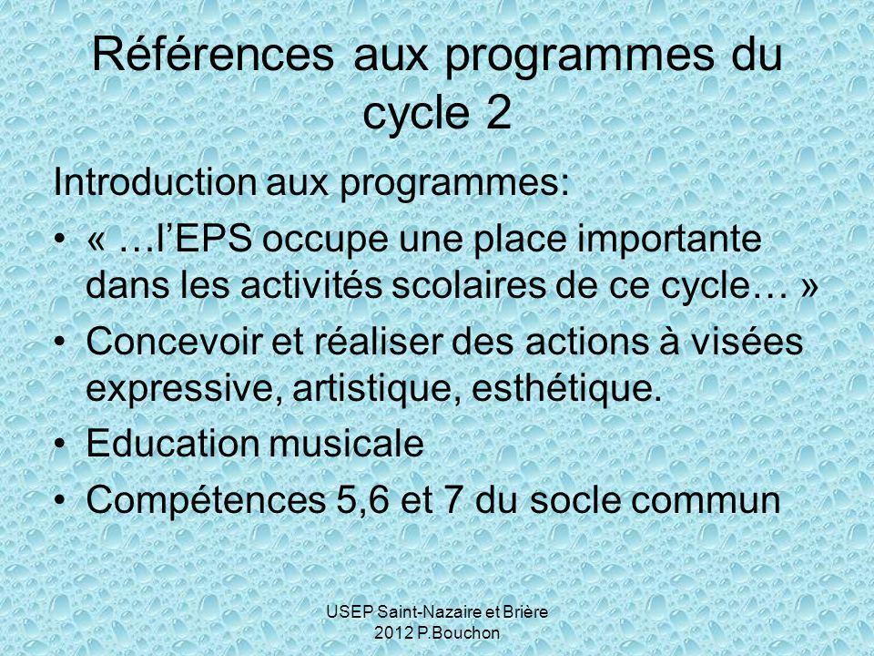 Références aux programmes du cycle 2