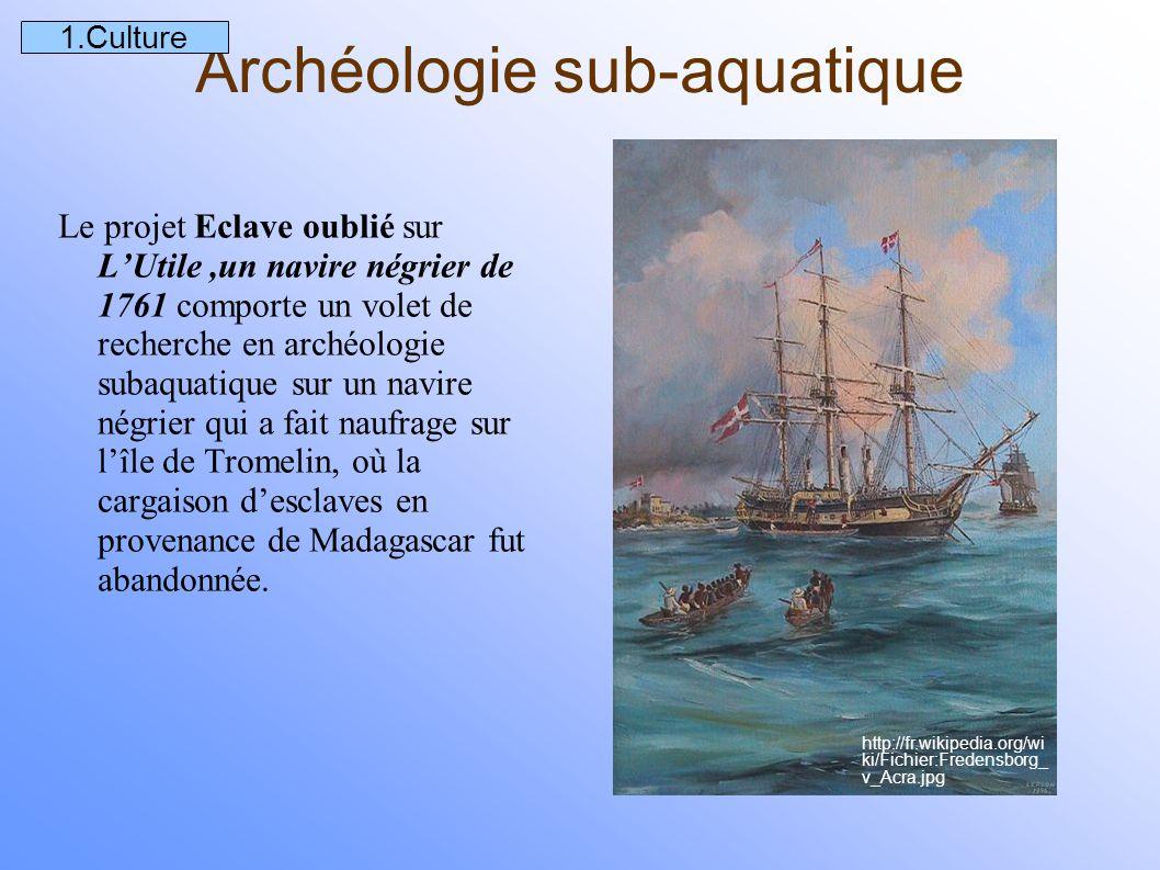 Archéologie sub-aquatique