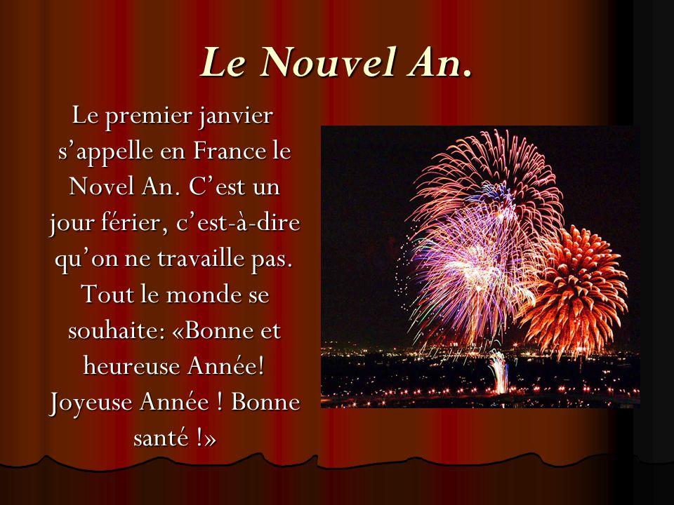 Le Nouvel An.