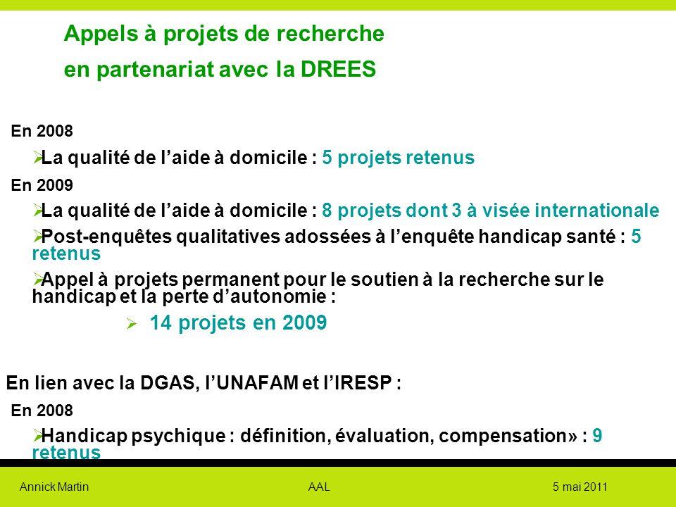 Appels à projets de recherche en partenariat avec la DREES